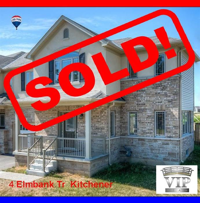 ***SOLD***Very Bright,Spacious Freehold Townhouse! Ready To Move-In!