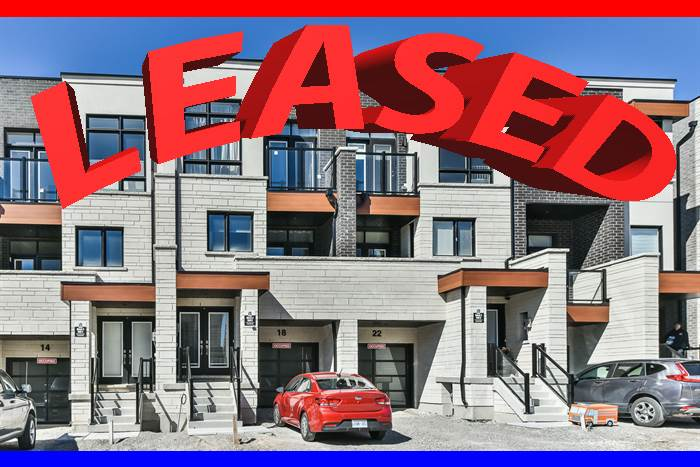FOR RENT***Brand New!Executive  Townhome Built By Vogue In The Most Prestigious Area Of Vaughan***